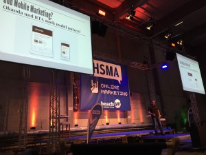 Björn Radde als Speaker beim HSMA eMarketing Day