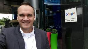 Bjoern Radde bei Google in Dublin